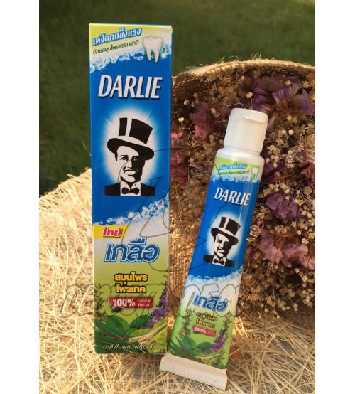 Зубная паста для здоровья десен с солью и травами от Darlie, Salt Herbal Protect, 35 гр