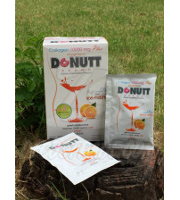 Питьевой коллаген 10000 мг (апельсин) от Donutt Brand, Collagen 10000 mg Plus 10 Pcs. (Orange Flavor), 10 шт