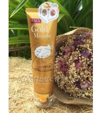 Нежный мусс для умывания с Золотом и Жемчужной пудрой от Facy, Gold Pearl Mousse Facial Cleanser, 80 гр