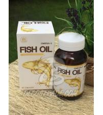 Рыбий жир (Омега-3) в капсулах по 1000 мг от Pharmahof, Fish Oil Omega-3 1000 mg, 60 капсул