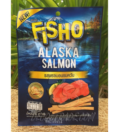Рыбная соломка «Лосось» от Fisho, Alaska Salmon, 20 гр
