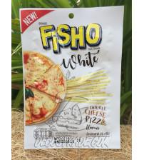 Рыбная соломка «Пицца с двойным сыром» от Fisho, White Double Cheese Pizza Flavour, 25 гр