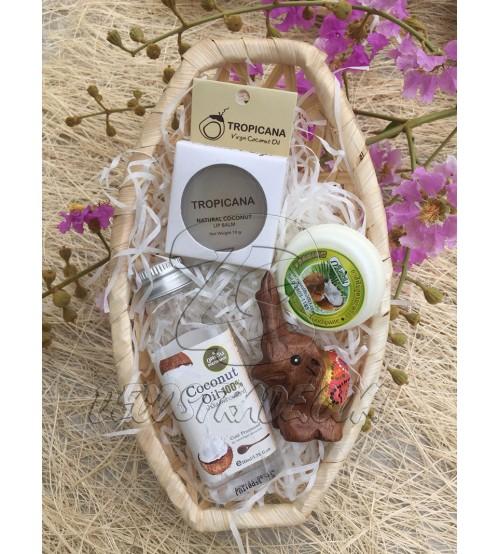 """Подарочный набор «Кокосовый», Gift set mini """"Coconut"""""""