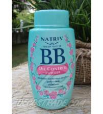 Рассыпчатая BB пудра для жирной кожи от NATRIV, 40 гр