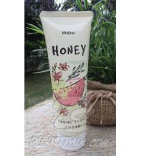 Крем-скраб с медом от Mistine, Honey Facial Scrub Cream, 85 гр