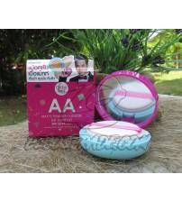 Пудра-кушон для лица с матирующим эффектом и защитой от солнца SPF 50 PA++ от  Cathy Doll, AA matte powder cushion oil control SPF 50 PA++, 15 гр