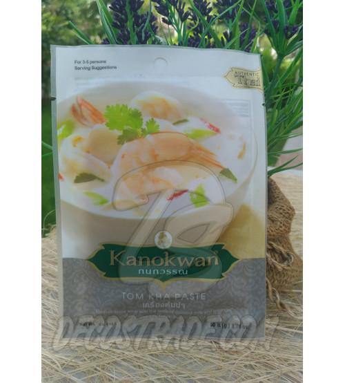 Паста для кокосового супа Том Кха от Kanokwan, Tom Kha Paste, 50 гр