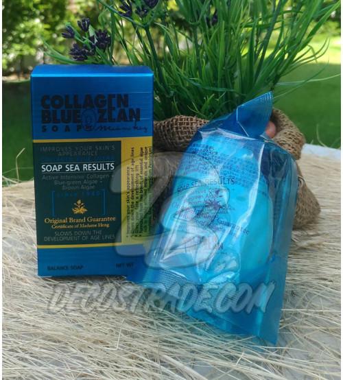 Коллагеновое мыло от Madame Heng, Collagen Blue Ozean Soap, 80 гр