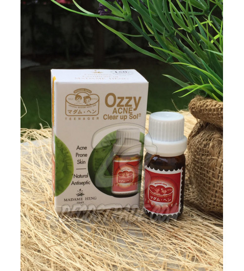 Лосьон против акне от Madame Heng, Ozzy acne claer Up Solution, 14 мл