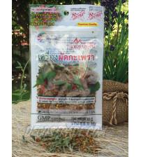 Острая приправа для традиционного тайского блюда Пад Капао от Mae Kaan, Pad Kapao Spices, 30 гр