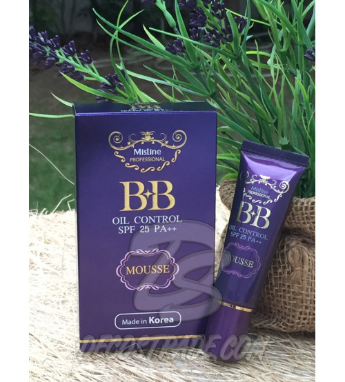 BB крем «Контроль жирности» и защита от солнца SPF 25 PA++  от Mistine, BB Oil Control Mousse SPF 25 PA++, 15 гр
