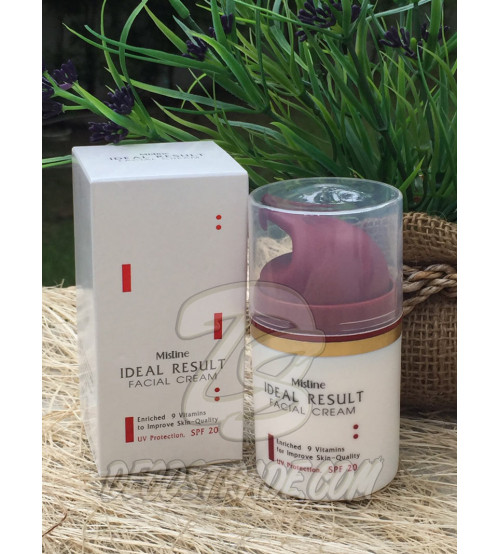 Антивозрастной крем для лица «Идеальный результат» SPF 20 от Mistine, Ideal Result Facial Cream SPF 20, 45 гр