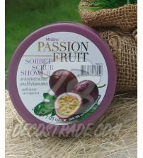 Скраб «Фруктовый сорбетс  Маракуйя» от Mistine, Passion Fruit Sorbet Scrub Shower, 200 гр
