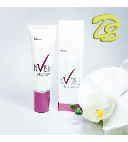 Восстанавливающий крем для глаз с морским коллагеном от Mistine, Invisible Anti-Puffiness & Clarity Recovery Eye Cream, 15 гр