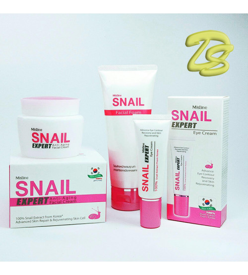 "Набор ""Snail Expert"" 3 средства  от Mistine, Snail Expert set 3 items"