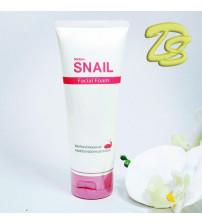 Пенка для умывания с экстрактом улиточной слизи от Mistine, Snail Facial Foam, 80 гр