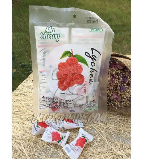 Жевательные молочные конфеты «Личи» My Chewy, Milk Candy Leechee Flavour, 67 гр