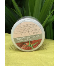 Маска для лица для сужения пор на основе томата от Myth, Tomato pore reducer clay facial mask, 120 гр