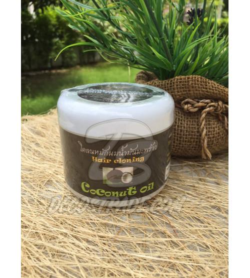 Лечебная маска для поврежденных волос с Кокосовым маслом от Pobtham, Coconut Oil hair treatment, 300 мл
