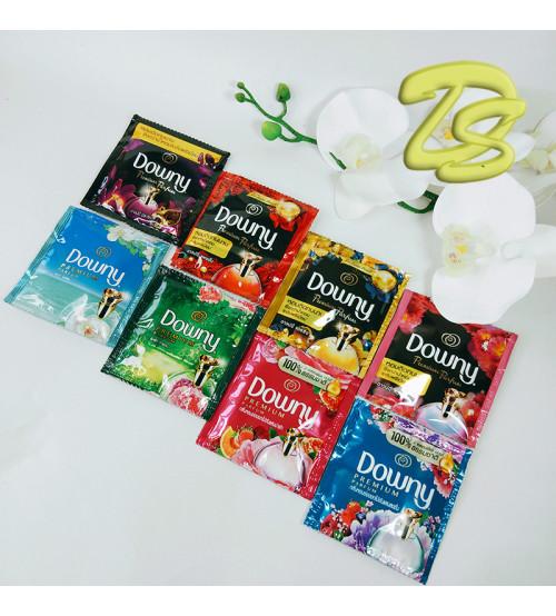 Коллекция концентрированных парфюмированных кондиционеров для белья с различными ароматами от Downy, 8 шт. емкость 16-20 мл.