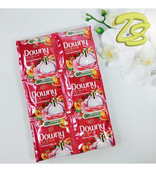 """Набор одноразовых концентрированных кондиционеров для белья """"Adorable Bouquet"""" by Downy, 24 pcs. емкостью 20 ml."""