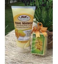 Питательный крем для тела с Манго от PumeDin, Thai Mango Nourishing Body Cream, 200 гр
