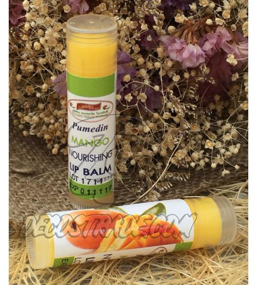 Питательный бальзам для губ «Манго» от PumeDin,  Mango Nourishing Lip Balm, 5,5 гр