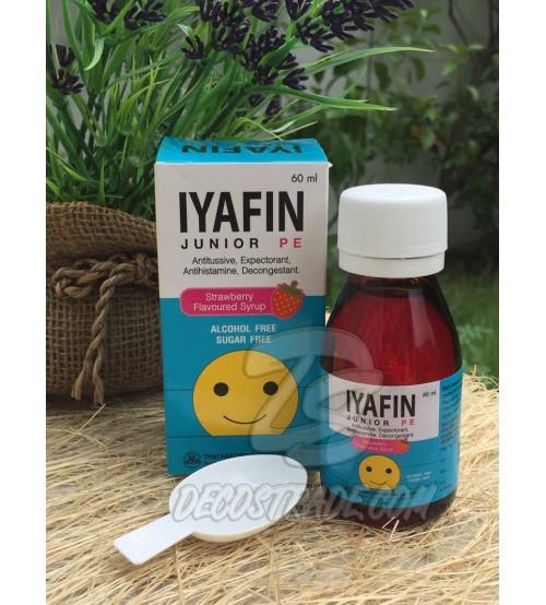 Iyafin Junior Strawberry Flavoured Syrup 60 ml.