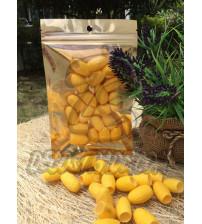 Золотые отборные шелковые коконы, Cocoon yellow, 20 шт