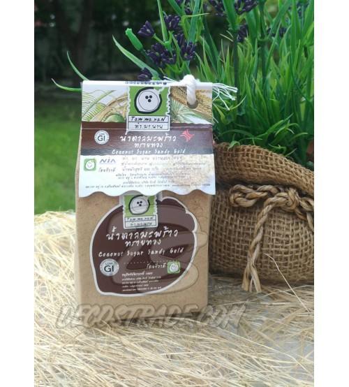 Золотой Кокосовый сахар от Tam Ma Nan, Coconut Sugar Sandy Gold, 150 гр