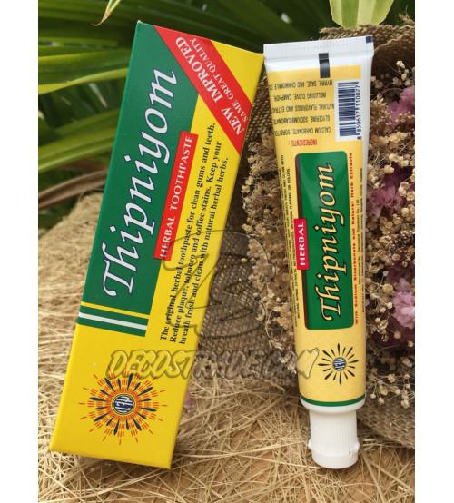 Натуральная зубная паста Thipniyom, Herbal Toothpaste, 40 гр