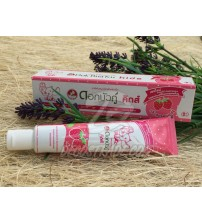 Twin Lotus Herbal Toothpaste For Kids Strawberry Flavor 35 g.