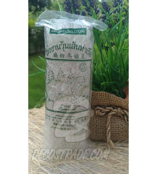 Тонкая стеклянная лапша (фунчоза) из бобов, Vermicelli Factory Tha Ruea, 50 гр