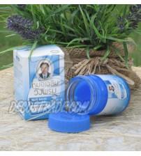 Синий (охлаждающий) тайский бальзам от Wangprom Herb, Blue Balm, 50 гр