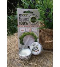 Натуральное масло Ши 100% от Phutawan, Organic shea butter balm 100%, 10 гр