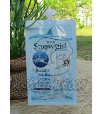 Крем-сыворотка для лица со Скваленом от Snowgirl, Squalane Serum Cream, 10 гр