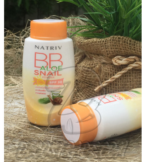 BB пудра «Алоэ и Улитка» с защитой от солнца SPF30 от Natriv, BB Aloe Snail Powder SPF 30, 25 гр