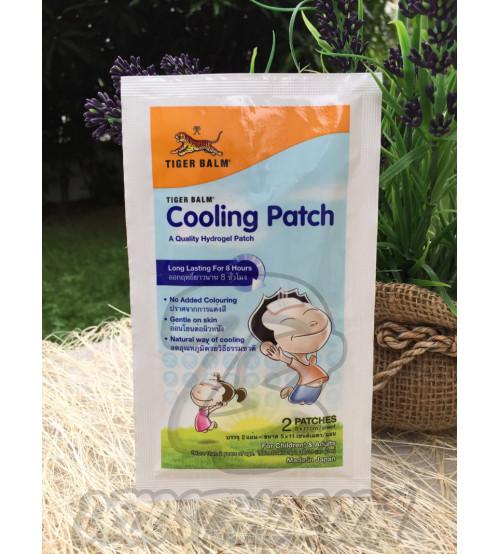 Охлаждающий, гигиенический пластырь для детей и взрослых от Tiger Balm, A Quality Hydrogel & Cooling Patch, 2 шт