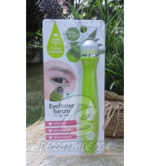 Сыворотка-ролик для области вокруг глаз с коллагеном и алоэ вера от Baby Bright, Eye roller Aloe Vera & Fresh Collagen, 15 мл