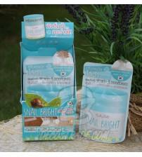 Осветляющий крем для сухой и проблемной кожи лица с улиткой от Cathy Doll, Snail bright whitening, 6 гр