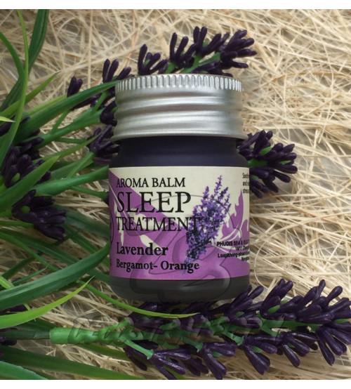 Ароматический, расслабляющий бальзам с Лавандой от Be Thank, Aroma Balm Sleep Treatment,12 гр