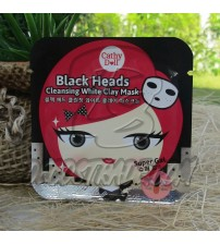 Очищающая маска-пленка от черных точек с белой глиной  от Cathy Doll, Black Heads Cleansing White Clay Mask, 5 гр
