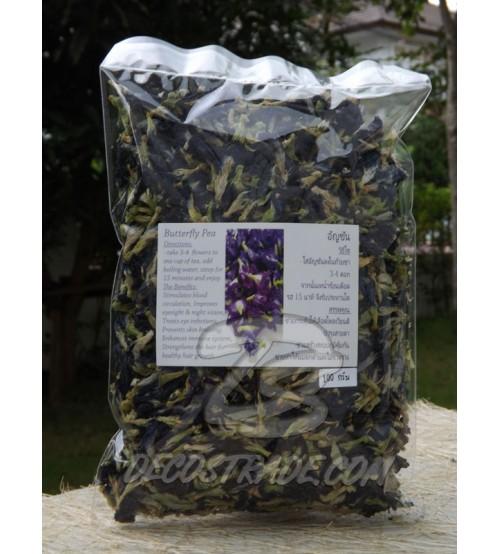 Синий чай анчан (Мотыльковый горошек или клитория тройчатая), 100 гр