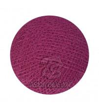 Хлопковый шар для гирлянды, диаметр  6.5 cm 5283