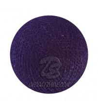 Хлопковый шар для гирлянды, диаметр  6.5 cm 5323