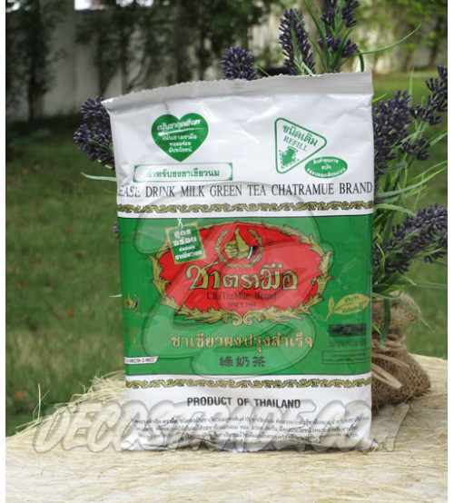 Зеленый молочный чай Chatramue brand,  200 гр