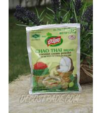 Кокосовая крем-пудра от Chao Thai Brand, Cconut cream powder, 60 гр