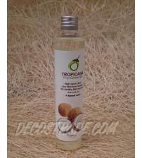 Натуральное 100% кокосовое масло холодного отжима от Tropicana Oil 100 мл, Natural Coconut Oil 100%