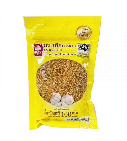 Тайский Сушеный Жареный Чеснок 100 гр