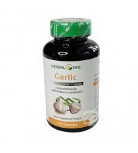 Капсулы с экстрактом чеснока для укрепления иммунитета, нормализации холестерина, разжижения крови  от Herbal One, Garlic Extract, 100 капсул